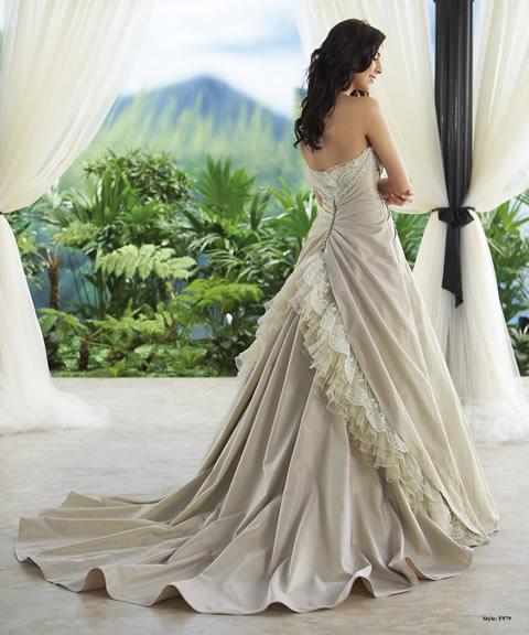Trajes de novia baratos-979B