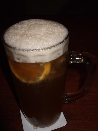 Honey lemon black tea