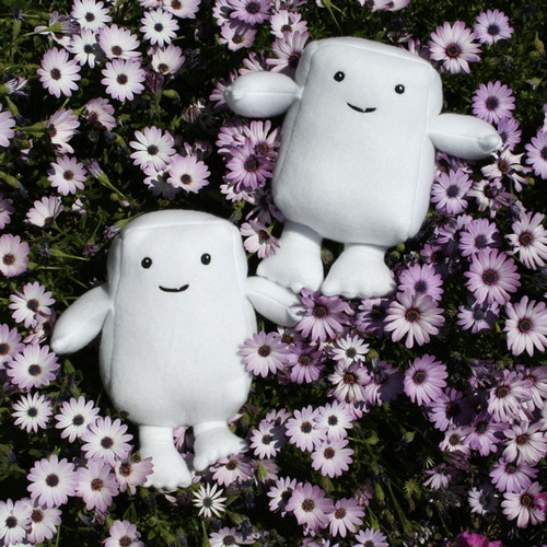 Adipose frolic in the flowers!