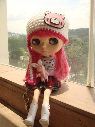 Gloomy bear hat by Pink Pinkle.