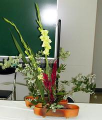 When fruit becomes it (monchi6688) Tags: flowers flower ikebana flowerarrangement  sogetsu japaneseflowerarrangement