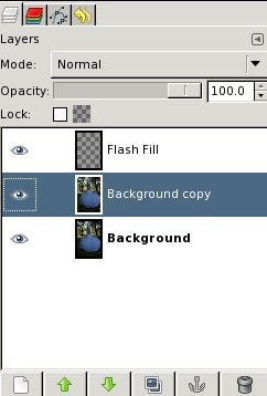 Fake Fill Flash -- Select layer