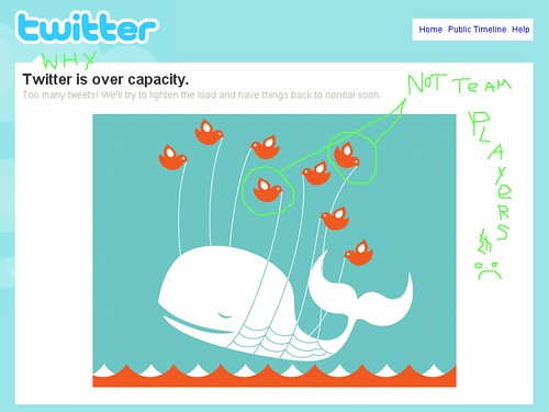 Why Twitter is Over Capacity