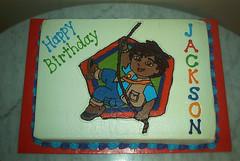 Jackson's Diego Cake