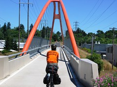 springwater corridor trail bridge