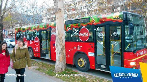 Info Media Group - coca cola, BUS Outdoor Advertising, 12-2016 (7)