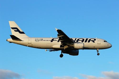 OH-LXM Airbus A320-214 Finnair