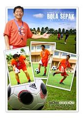 Bola Sepak (Adznor Junaidi) Tags: ball football chelsea soccer banner bola adidas sepak justinganai