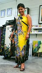 Modeling a Silk Batik