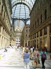 Original Shopping Mall. (MWBee) Tags: italy naples galleriaumberto
