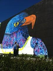1000 word BIRD (still in progress) (IVESONE.COM) Tags: blue bird big ives schiedam ivesone
