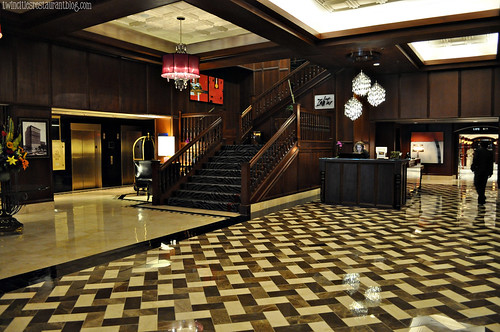 Lobby and Stairs at Grand Hotel ~ Minneapolis, MN