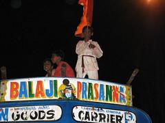 On the Truck (mashtyin) Tags: mumbai visarjan 2007 ganpati canona710is