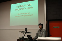 MySQL Meetup, October