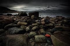 Paisaje de Suecia puerto