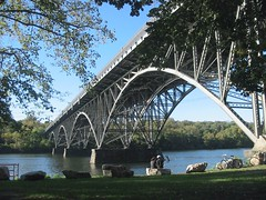 Sunday Afternoon by the River (Explore, Oct 23, 2007 #183) (jomak14) Tags: bridge canon arches powershot explore a40 fairmountpark schuylkillriver strawberrymansion