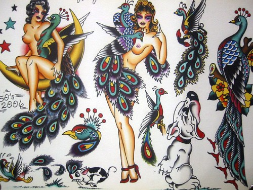 Vintage Tattoo Flash Art 57