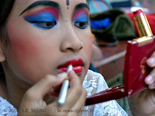 Bali Asian Eyeshadow Make up design