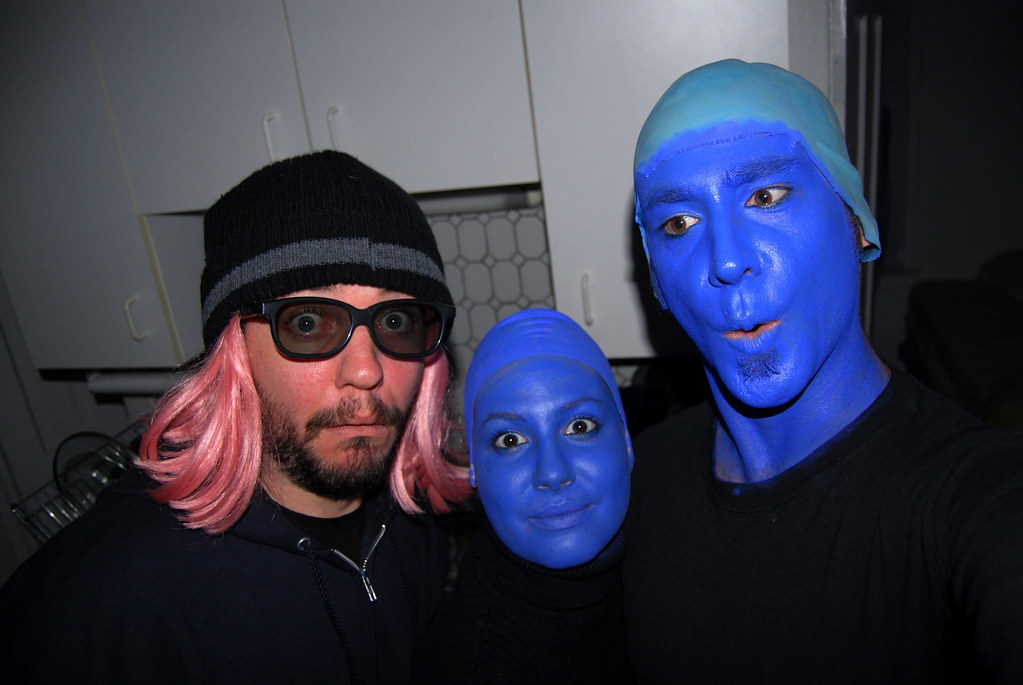 halloween 2007 the blue man group asner tags halloween bluemangroup blueman