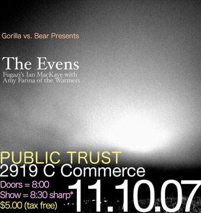 GvsB Presents: The Evens