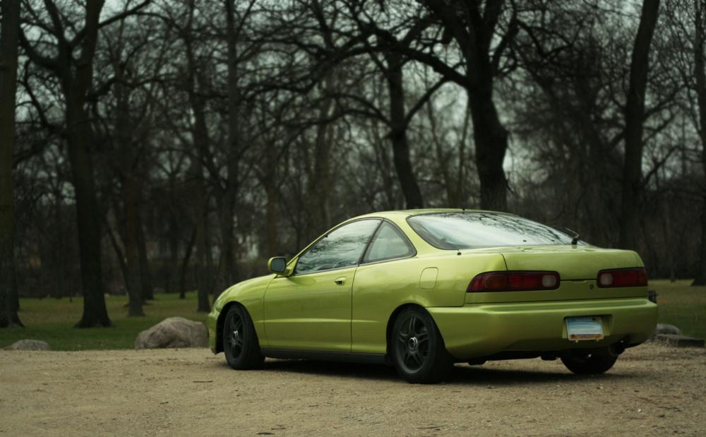 Eaa Cdf O on 95 Acura Integra Green