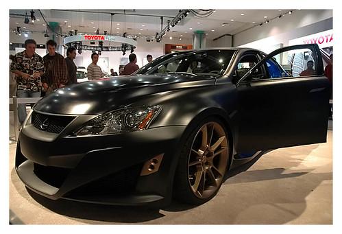 Lexus ISF at LA Autoshow