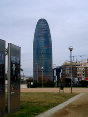 Jean Nouvel's Torre Agbar (experience_collector) Tags: barcelona architecture torreagbar jeannouvel