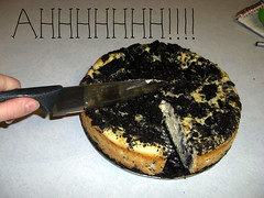 Death of a cheesecake