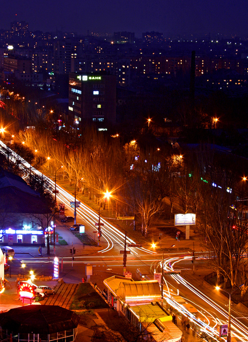 Nikolaev in the evening