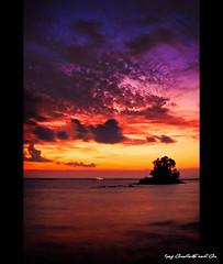 afterglow (bhawank frey) Tags: landscape balikpapan batubatu