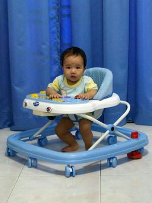 Julian on walker