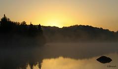 doux matin (Guylaine2007) Tags: morning nature landscape lac reflet paysage matin photoquebec lysdor llovemypic