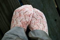 Waving lace