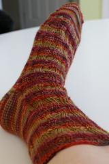 New Year sock #1
