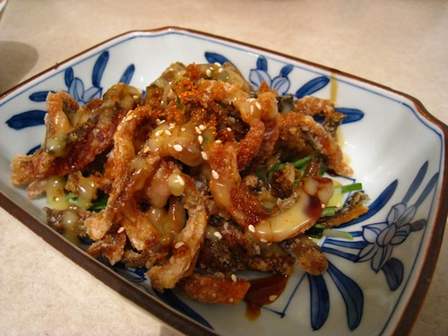 Tampopo's Deep-Fried Salmon Skin.JPG
