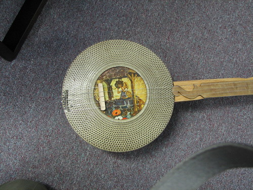 Cookie Tin Banjo pot