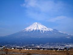 2008年2月の富士山
