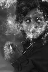 I am fading among my own smoke (HAMED MASOUMI) Tags: portrait people blackandwhite bw woman eye look canon wonderful hair manchester persian hand iran cigarette smoke streetphotography sigma persia help iranian fading surrounded hamed 30d 70300   documentaryphotography masoumi hamedmasoumi  myownbehaviour itisallmine fade myownsmoke deliveranceme amongsmoke surroundedbysmoke