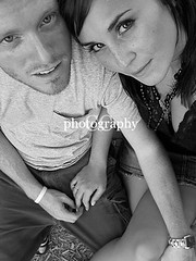 Terica & Jason, Again (cclarkphoto) Tags: blackandwhite love couples holdhands