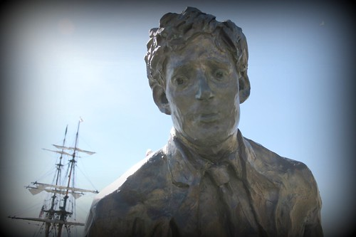 Jack London & Tall Ships by JimHildreth