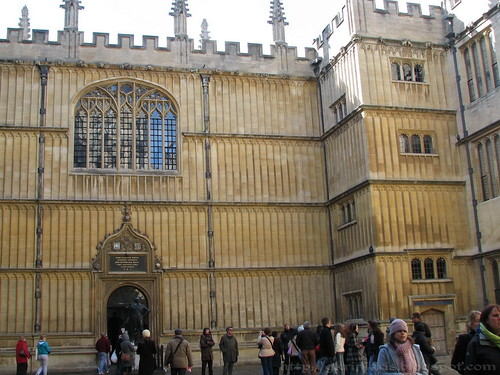 The old Bodleian Library