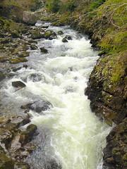 Rapids at the Miners bridge over the Afon Llugwy (eucharisto deo) Tags: wales river waterfall falls snowdonia afon betsycoed llugwy