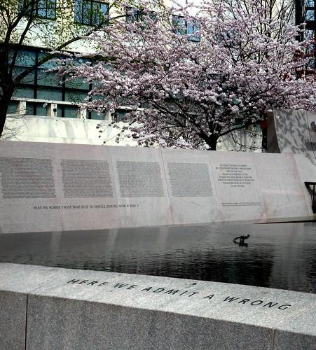 Japanese American WW2 Memorial