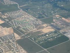 Flying from Monterrey, Mexico to Houston