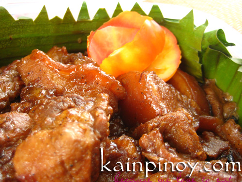 Adobong Liempo - Pinoy Bento for Lasang Pinoy Challenge #25