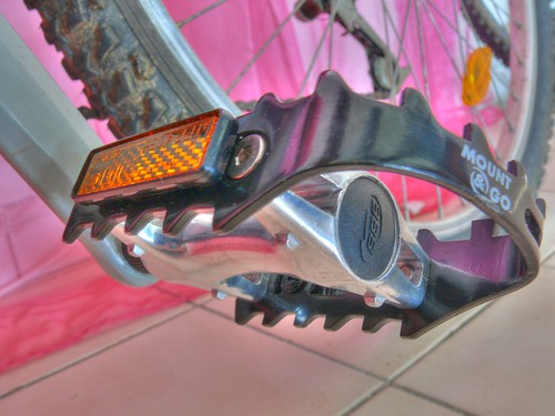 081/366 - New bike pedal in HDR