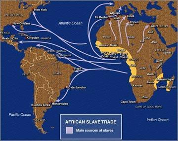 Slave trade MAP