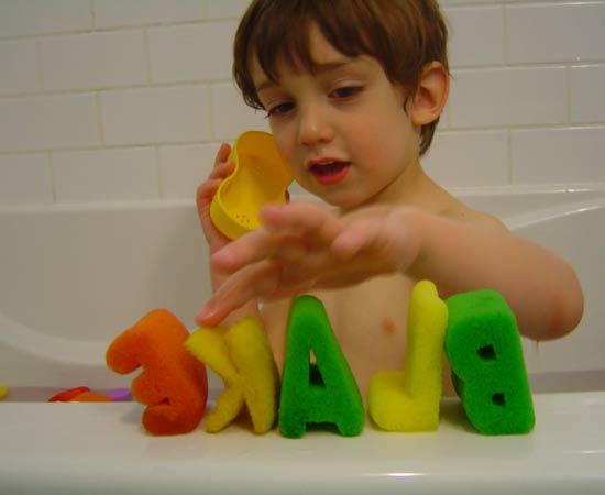 blake in the tub