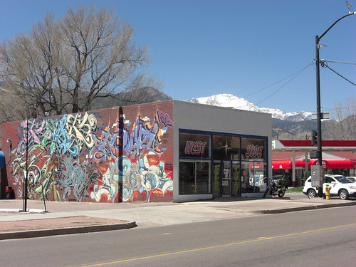 West Side Tattoo and Pikes Peak