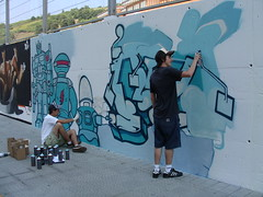 Graffitigileak, jo ta ke
